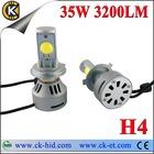 Hot sale! 2014 newest car h4 led headlight bulbs