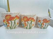 2014 Hot Selling ceramic pot for plants;flower pot wholesale