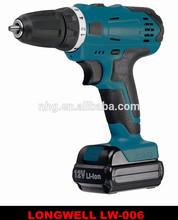 10mm 18v Li-ion Battery Cordless Drill / Professional cordless power tools