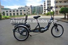 li ion battery 3 wheel electric bike bicycle, ebike