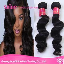 GuangZhou Shine Hair New Arrival Beautiful hair,100 human hair weave,virgin peruvian hair extension loose wave