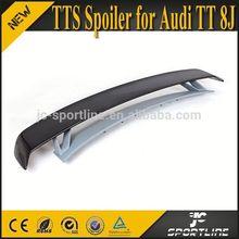 TTS Style TT Carbon Rear Spoiler For Audi TT Quattro,Fits:07~13 TT 8J Body