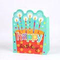 Sac de papier cadeau de forme irrégulière, gâteau de fantaisie desigh papier cadeau sacs