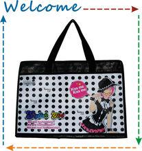 Stylish girl Shopping bag