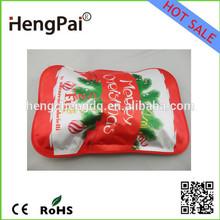 Нинбо цыси настоящая фабрика! новый продукт! горячие продаж новые продукты рождественские 2015 эко сумка рождество электрический мешок горячей воды