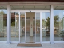 factory price high quality fashionable aluminum residential automatic sliding door
