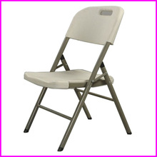 HDPE Resin Outdoor White Plastic Folding Chairs