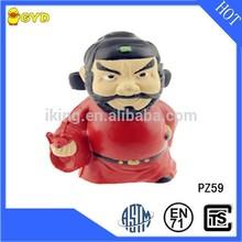 High quality PU foam Chinese custom action figure