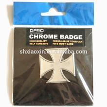 High Quality and 3D Car Chrome Badge Emblem