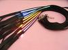 120cm Nylon flashing led pet leash small MOQ is acceptable