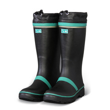 di sicurezza di alta qualità stivali di gomma stivali da pioggia con puntale in acciaio