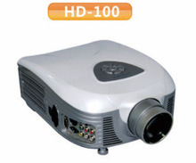 2014 Best price ! Best Native 720P 2400 lumens 20000 Hours LED LCD Video Projector with HDMI USB ,HD-100