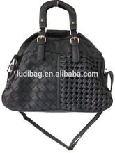 HOT Fashion women pu bag fashion weave handbag tote bag