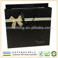Logo Printed Luxury Paper Gift Bag