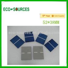 Hot 52*38 solar cell for DIY solar panel