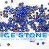 16 facet cut high quality lead free artificial glass rhinestone heat transfer pattern motif
