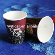 100% biodegradable cups,kraft pla paper cup,decorative disposable paper cup