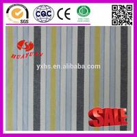 stripe cotton blue white yellow oxford fabric