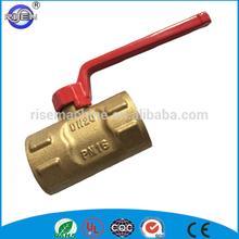Top sale long handle brass ball valve dn 20 ball valve