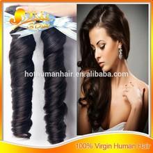 alibaba hair spring curl 6A grade 100% unprocessed brazilian remy hair
