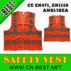2015 news high quality safety traffic vest