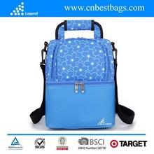 Promotion polyester insulated Sport Cooler Lunch Bag