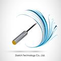 En métal tubulaire m12/blindé/dc10-30v/ac24~260v/tm-12 série/cylindrique de proximité inductifs capteurs/pièces mécaniques