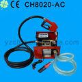 Ch8020 elettrico metro diesel pompa per metro ed il tubo flessibile di olio/pompa di trasferimento diesel con olio tubo e olio per armi 12v/24v/220v