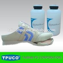 Strong shoe bonding water based polyurethane adhesive
