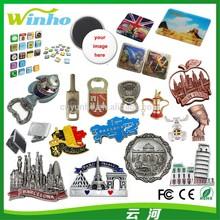 Winho 3D Metal Souvenir Fridge Magnet