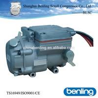 battery powered truck roof 12v 24v dc air conditioner compressor DM18A6