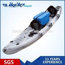 New Design Tandem Fish kayak High Quality Family Boat