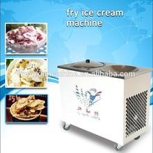 Stainless steel counter top ice cream frozen yogurt machine