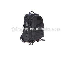 Black Nylon /Oxford backpack/folding nylon backpack sports