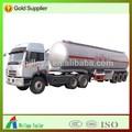 Alimentos de açoinoxidável líquido semi reboque tanque 30 cbm para 60cbm( volume opcional)
