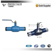 Handle lever&gear operated Fully Welded Ball Valve Trunnion Mounted