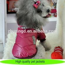 Personalised dog apparel dog winter coat