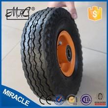"alibaba express 10 "" 3.50-4 wheelbarrow air wheel horse carriage wheels"