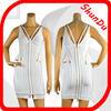 2015 wholesale white evening halter neck dresses