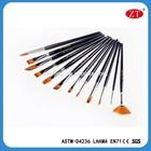12 pcs professional art tools wholesale multipoint artist paint brushes set