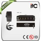 TQ-40 40W sound digital korea car audio amplifier with Handheld Mic