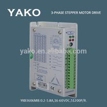 0.2-5.8A, DC16-60V 3 Stepper Motor Drive YKB3606MB for Dispencer machine