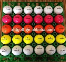 2016 High quality producer logo custom print golf balls