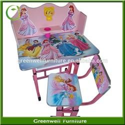 Children/kids Furniture/kids Adjustable study Table Set for kindergarten