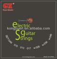 Níquel electric guitar strings, partes de guitarra de corpo, instrumento musical de harpa