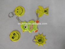 High quality PVC keychain with custom logo,hot sale custom keychain for promotion