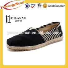 University Black Stripe Womens Classics Canvas Shoes Cheap