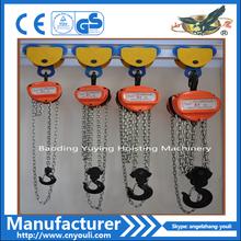 Advance Price 0.5-20Ton hand chain block, chain hoist