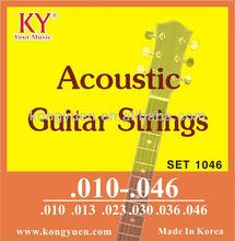 Cuerdas de guitarra acústica, Puente de la guitarra, De madera de los rosetones
