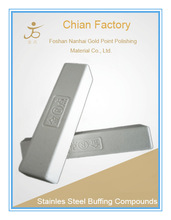 Factory Price White Stainless Steel Buffing Compounds , White Soap Bars